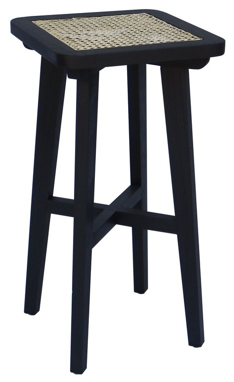 DOLLY CANE SQUARE COUNTER STOOL