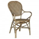 RIVIO DINING ARMCHAIR IN OLD GREY