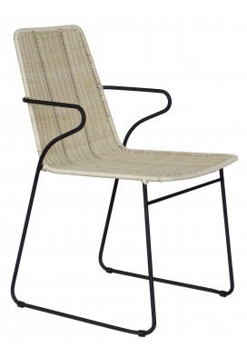 CARDIO DINING CHAIR IN WICKER