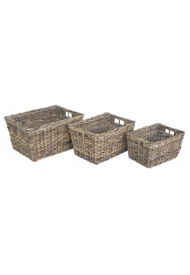 LINA BASKETS (SET OF 3)