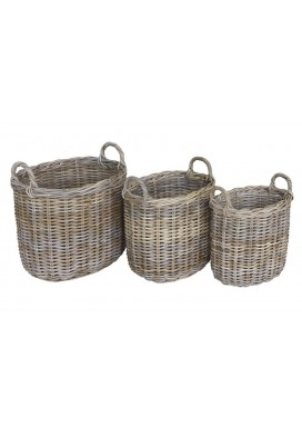 MINA BASKET (SET OF 3)