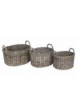 TINA BASKET (SET OF 3)